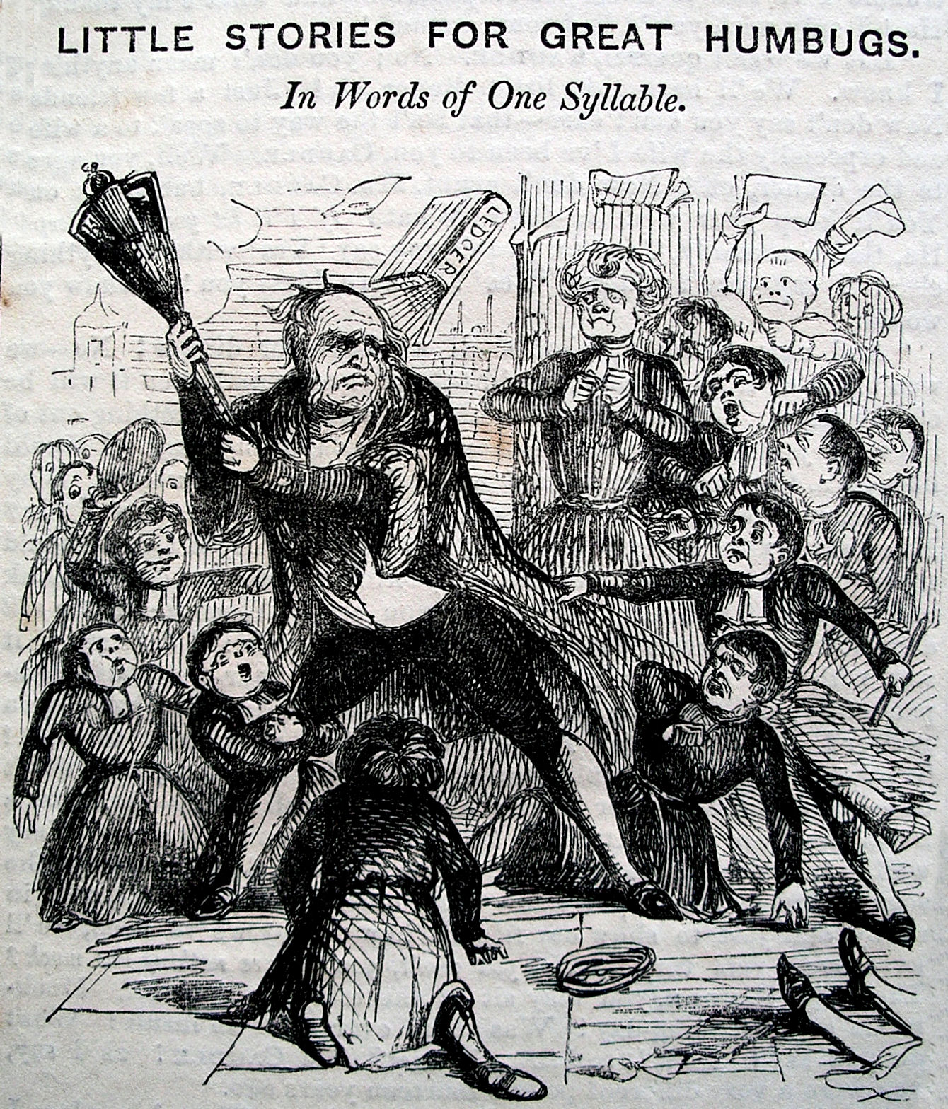 Punch cartoon of CH boys and the Lord Mayor of London