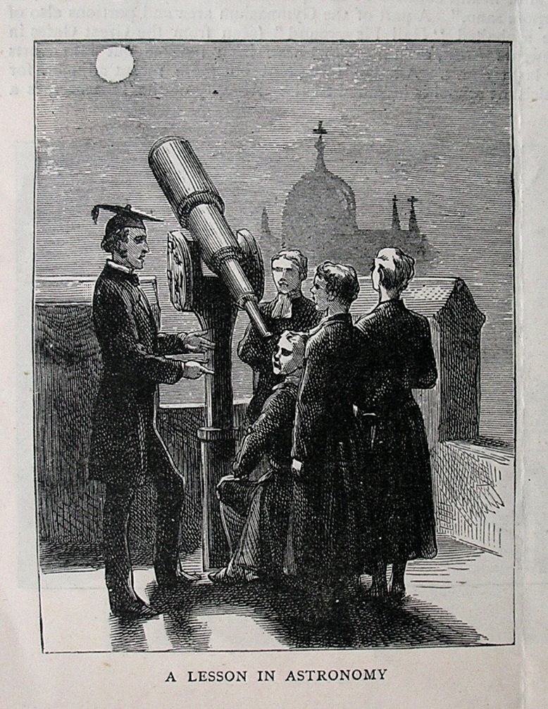 A lesson in astronomy 1889