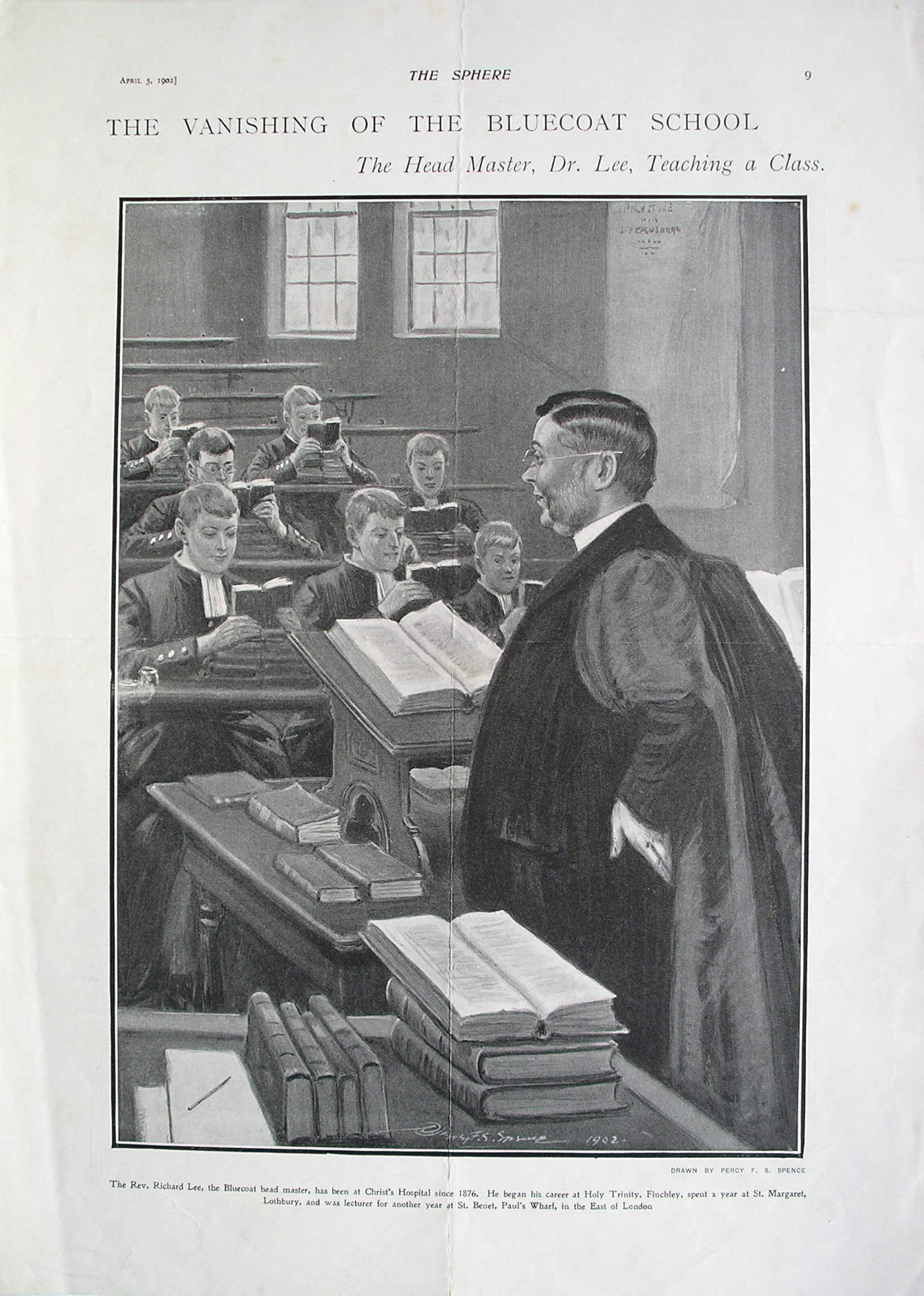 The Head Master teaching in 1902