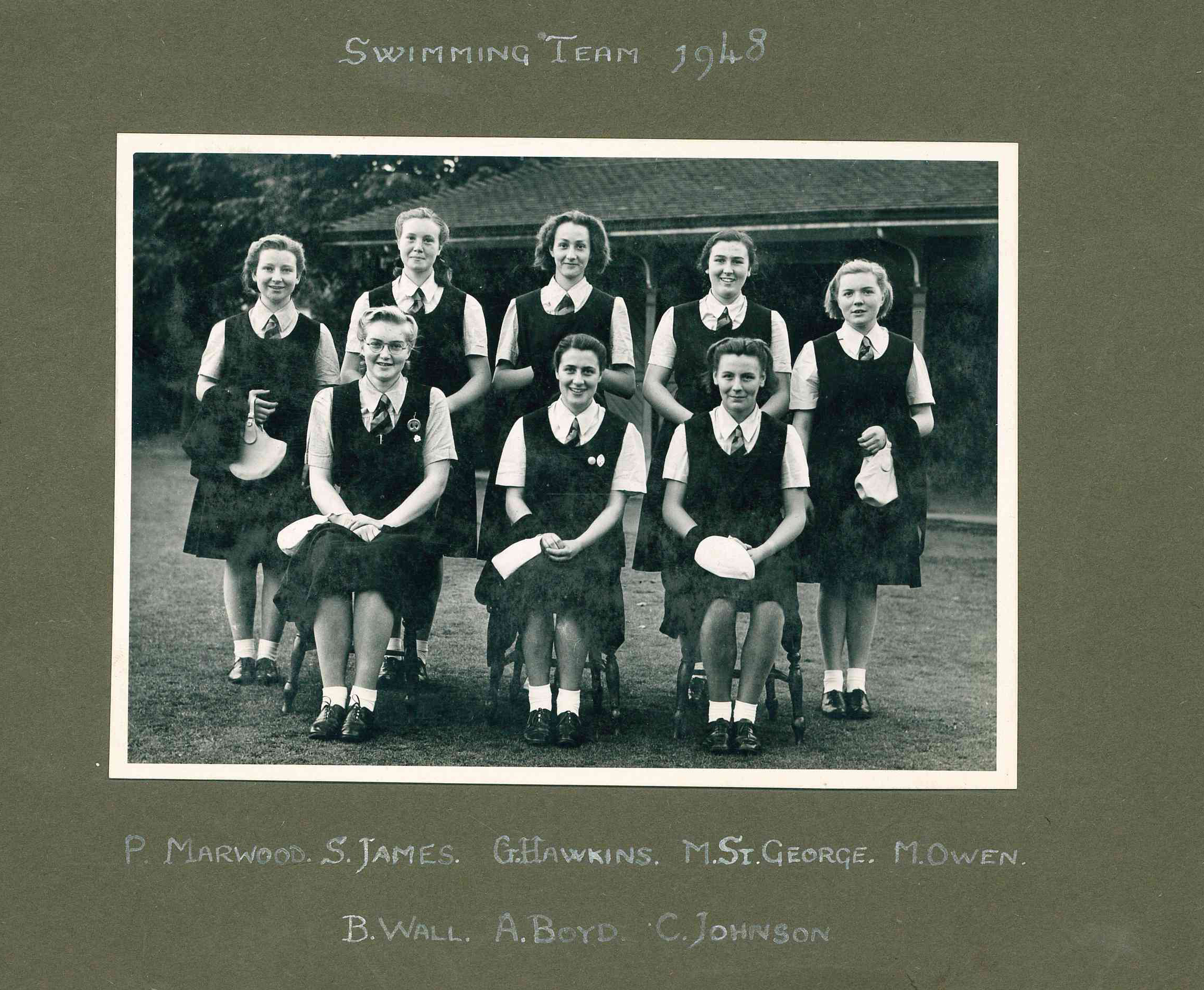 Hertford Swimming Team 1948