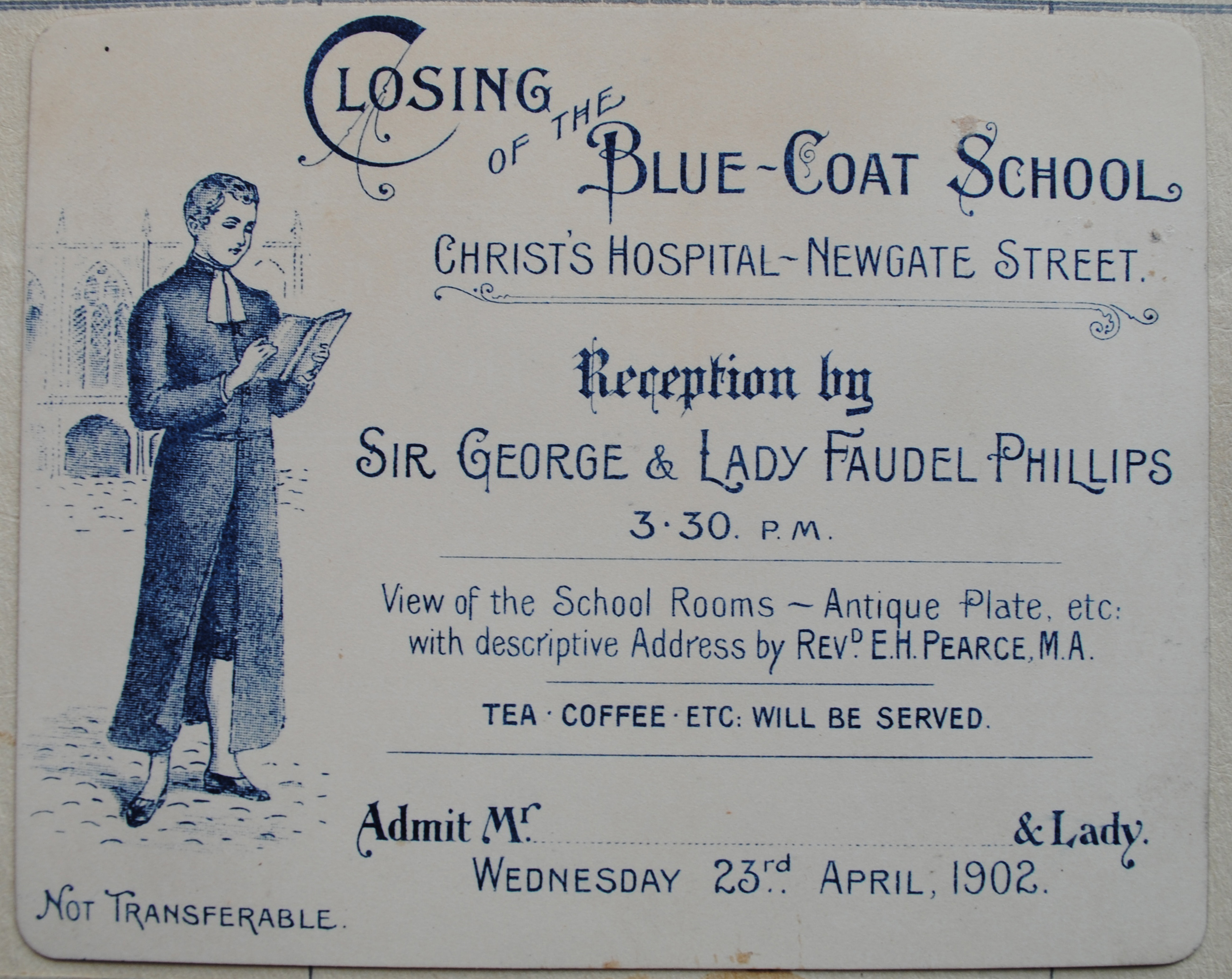 Closure of London school in 1902