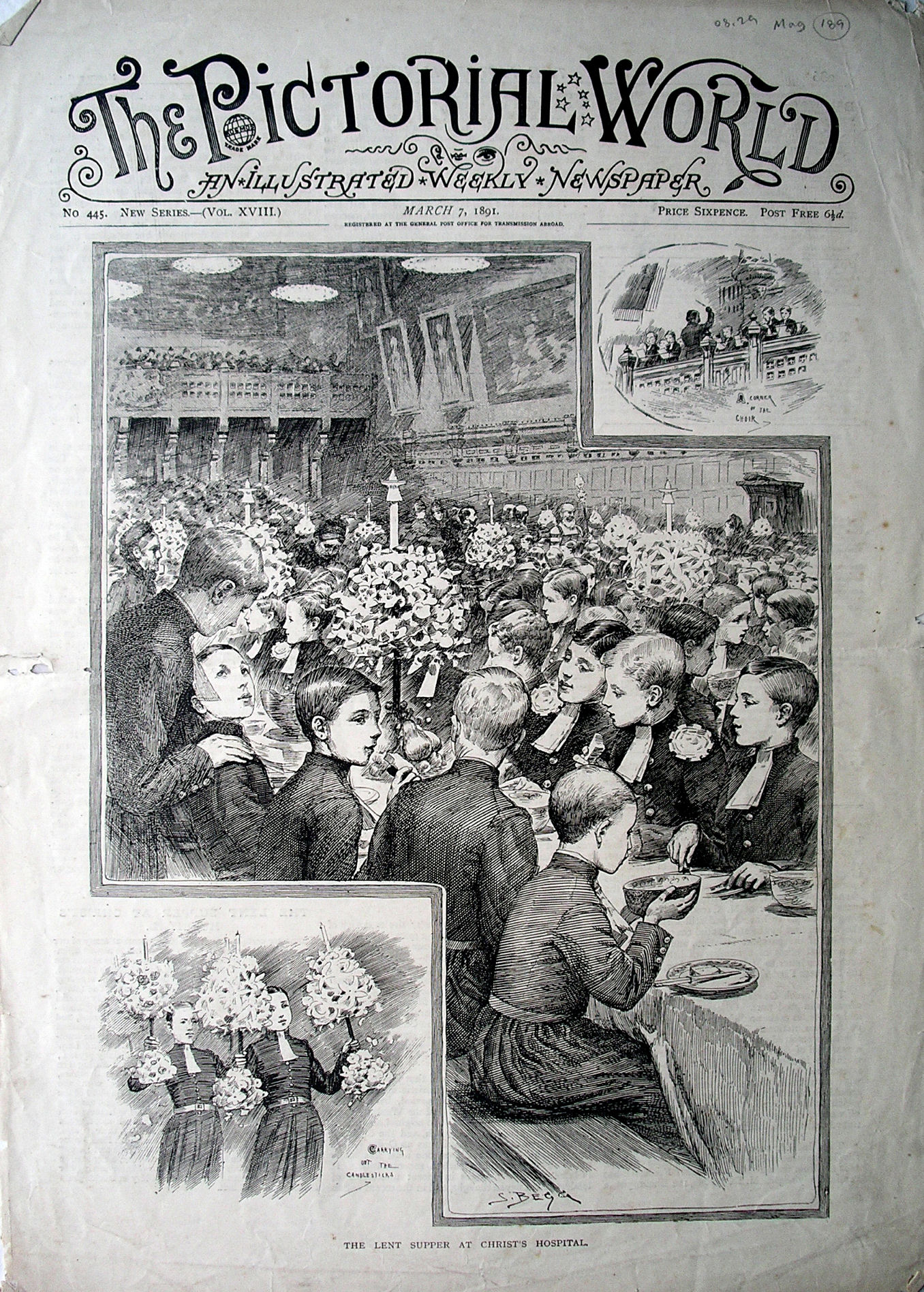 Pictorial World 7 March 1891