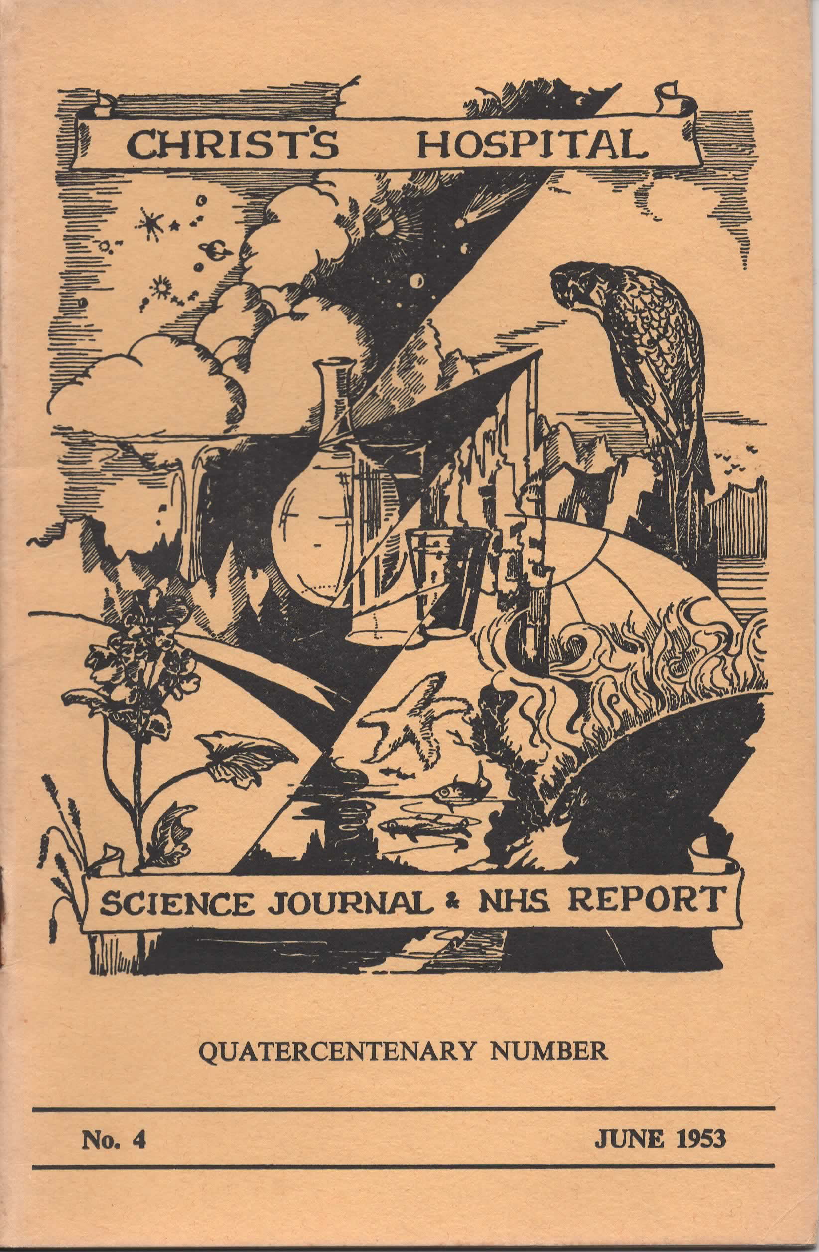 CH Science Journal & NHS Report 1953