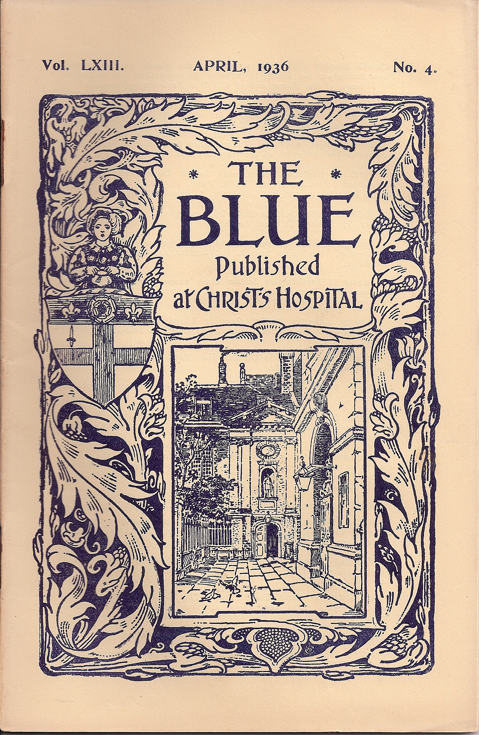 The Blue  April 1936