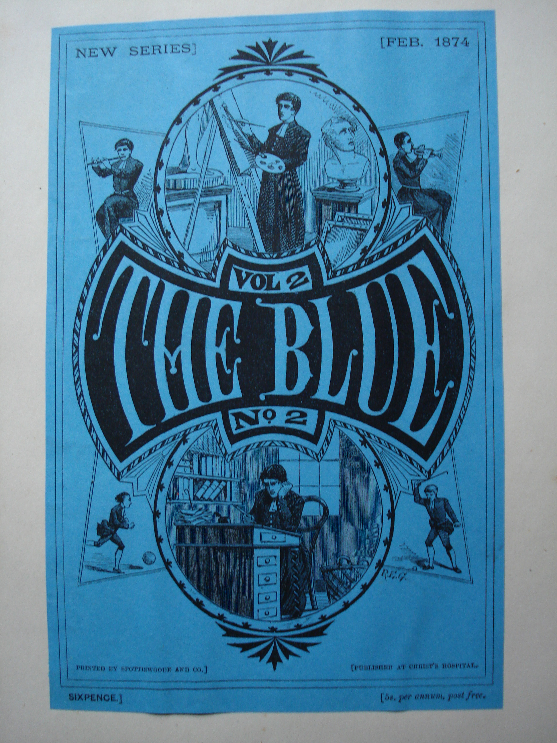 The Blue February 1874